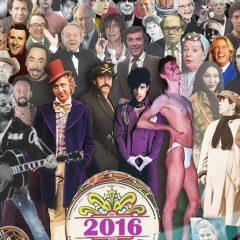 Los que nos dejaron este 2016: El cine y la TV de luto.