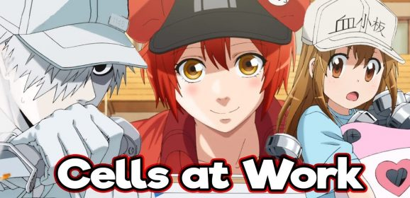 "Comentario de TV: ""Cells at work"" anime educativo"