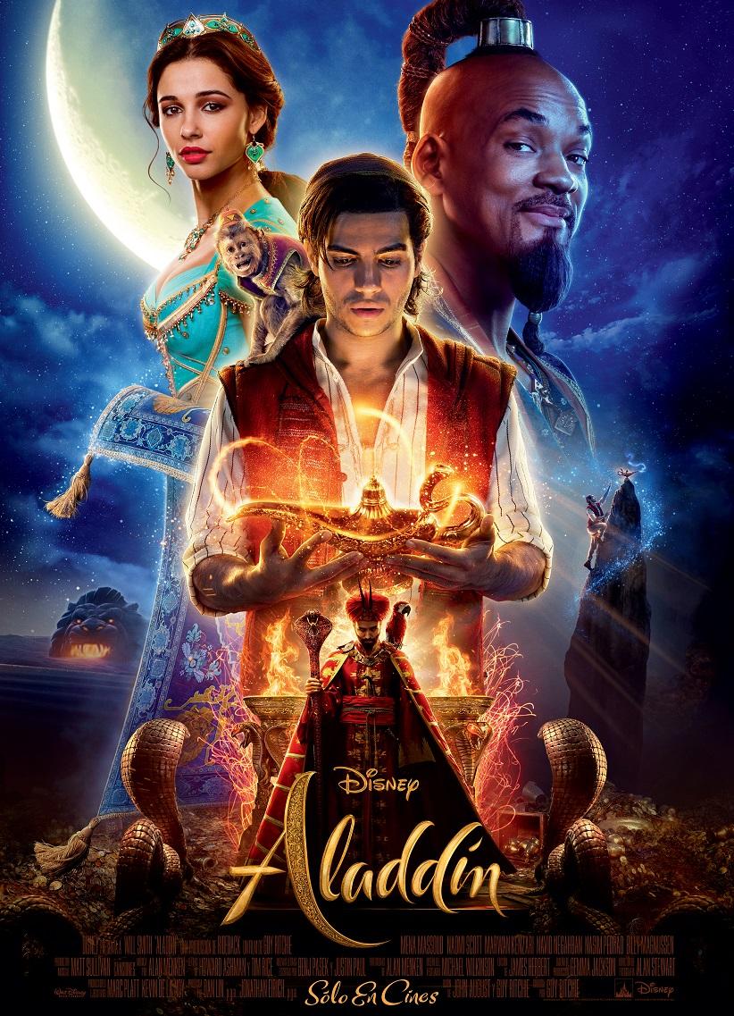 """Participa por una entrada doble para la Avant premiere de """"Aladdin"""""""