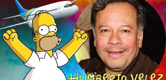 Humberto Vélez, la voz de Homero Simpson envió su apoyo a los chilenos