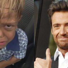 El emotivo mensaje de Hugh Jackman a un pequeño que quería suicidarse
